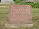 Profile photo:  Ann <I>Billings</I> Evans