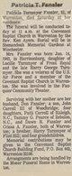 """Patricia Eloise """"Patsy"""" <I>Turnmeyer</I> Fansler"""