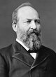 Profile photo:  James Abram Garfield