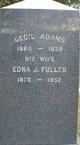 Edna J <I>Fuller</I> Adams