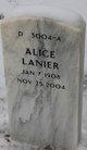 "Profile photo:  Alice ""Miss Peaches"" Lanier"