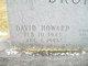Profile photo:  David Howard Bromagen