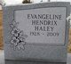 "Profile photo:  Evangeline Hendrix ""Angie"" Haley"