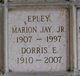 Profile photo:  Dorris Glenn <I>Ervin</I> Epley