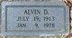 Alvin Daniel Angel