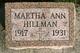 Martha Ann Hillman