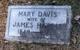 """Mary Alston """"Mollie"""" <I>Davis</I> Harris"""