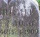 Profile photo:  Adah May <I>Hall</I> Canright