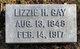 "Elizabeth H. ""Lizzie"" <I>Graves</I> Gay"
