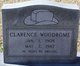 Profile photo:  Clarence W. Woodrome
