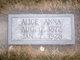 Alice Anna <I>Sauger</I> Holbrook