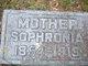 Sophronia <I>Ivers</I> Holbrook