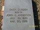 Daisy <I>Durden</I> Anderson