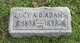 Profile photo:  Lucy Ann <I>Donelson</I> Adams