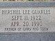 """Hershel Lee """"Bud"""" Quarles"""