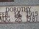 Dorothy Quarles