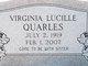 Virginia Lucille Quarles