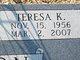 Teresa  Katherine <I>Rousey</I> Anderson