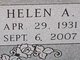 Helen Ann <I>Young</I> Brown
