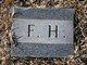 "Fedrick Thomas ""Fed"" Hughes"