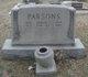 Bertha Mae <I>Cuddy</I> Parsons