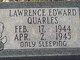 Lawrence Edward Quarles