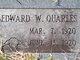 Edward W. Quarles