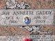 Joy Annette Gaddy