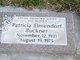 Patricia <I>Elmondorf</I> Buckner