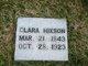 Clara <I>Lovelady</I> Hixson