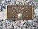 Bertha Ann Johnston