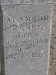 Profile photo:  Alanson Banks