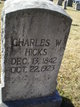 Charles Wesley Hicks, Sr