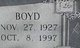 Boyd Howard