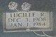 Lucille R Creel