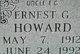 Ernest G Howard