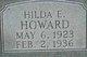 Hilda E Howard