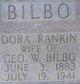 "Olive Belle Dora ""Dora"" <I>Rankin</I> Bilbo"
