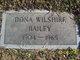 Profile photo:  Dona <I>Wilshire</I> Bailey