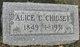 Profile photo:  Alice <I>Chenoweth</I> Chidsey