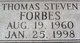 Thomas Steven Forbes