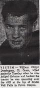 "Profile photo:  William Gilbert ""Billy"" Dominguez"