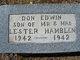 Profile photo:  Don Edwin Hamblen