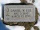 Daniel Webster Fue