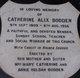 Catherine Alix Bodden