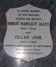 Zillah Jane <I>Bodden</I> Alley