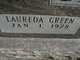 Profile photo:  Laureda Jouree <I>Green</I> Benedict
