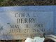 Cora Bell <I>Laird</I> Berry