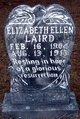 Elizabeth Ellen Laird