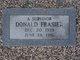 Donald Frasier